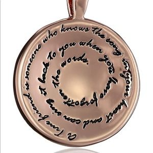 Rose Gold Friendship Necklace